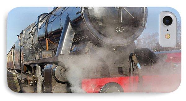 48624 Steam Locomotive Phone Case by Steev Stamford