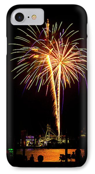 IPhone Case featuring the photograph 4th Of July Fireworks by Bill Barber