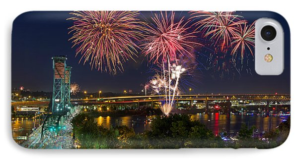 4th Of July Fireworks Phone Case by David Gn