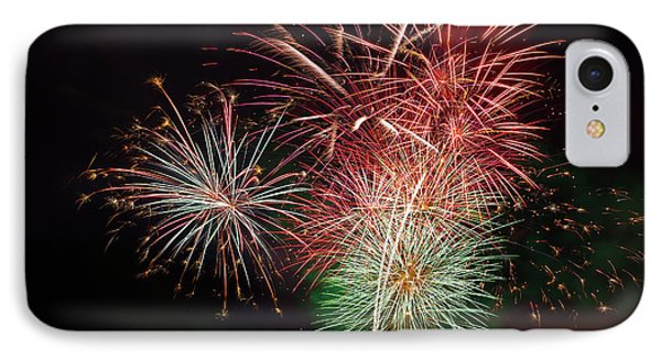 4th Of July Fireworks Display Portland Oregon Phone Case by David Gn