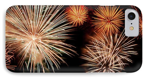 4th Of July - Fireworks IPhone Case by Nikolyn McDonald