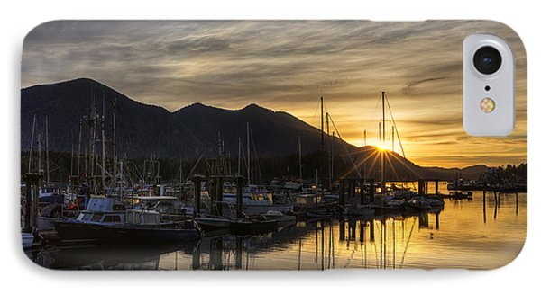4th Street Docks Sunrise - Tofino IPhone Case by Mark Kiver