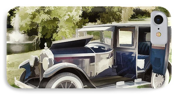 1924 Buick Duchess Antique Vintage Photograph Fine Art Prints 106 IPhone Case