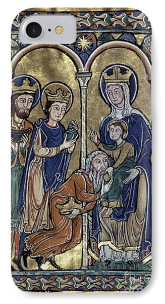 Adoration Of Magi IPhone Case by Granger