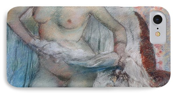 After The Bath Phone Case by Edgar Degas