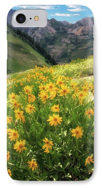 Albion Basin Wildflowers IPhone Case by Utah Images