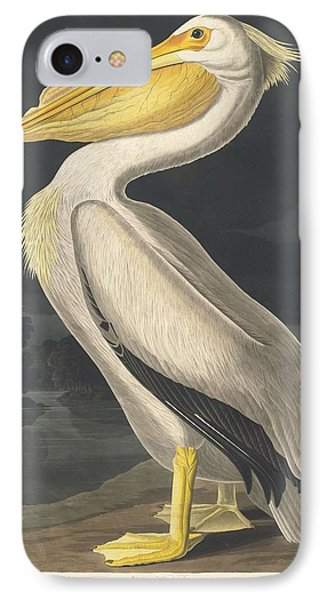 American White Pelican IPhone 7 Case by Rob Dreyer