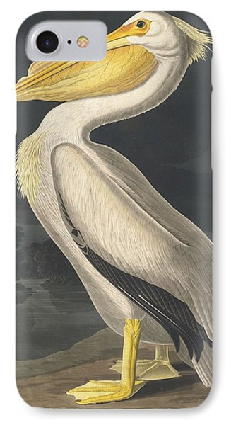 American White Pelican IPhone Case by Rob Dreyer