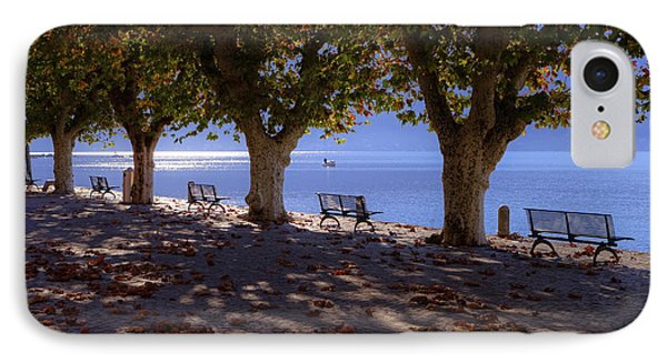 Ascona - Lake Maggiore IPhone Case by Joana Kruse