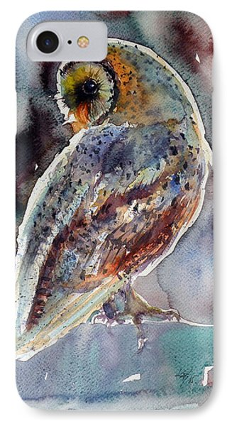 Barn Owl IPhone Case by Kovacs Anna Brigitta