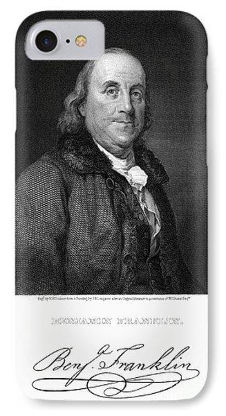 Benjamin Franklin Phone Case by Granger