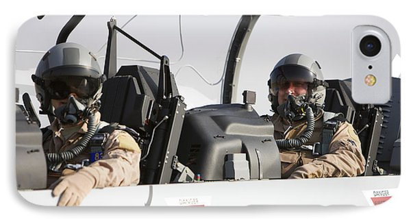Camp Speicher, Iraq - U.s. Air Force Phone Case by Terry Moore