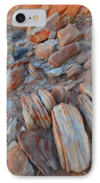 IPhone Case featuring the photograph Colorful Cove In Valley Of Fire by Ray Mathis