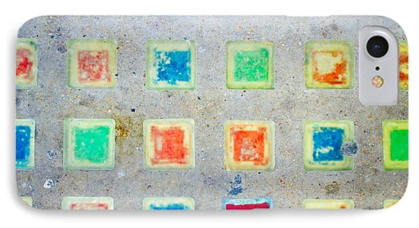 Colorful Tiles IPhone Case by Tom Gowanlock