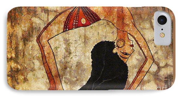 dancer of ancient Egypt IPhone Case by Michal Boubin
