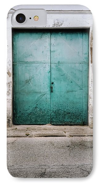 IPhone Case featuring the photograph Door With No Number by Marco Oliveira