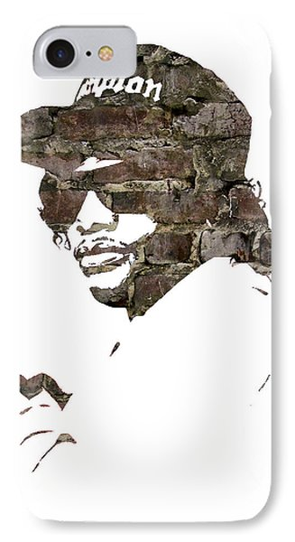 Eazy E Straight Outta Compton IPhone Case by Marvin Blaine