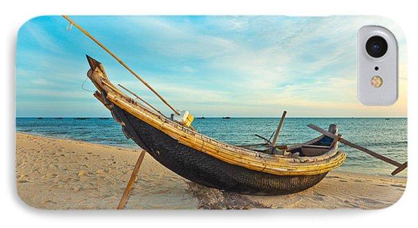 Fisherman Boat Phone Case by MotHaiBaPhoto Prints