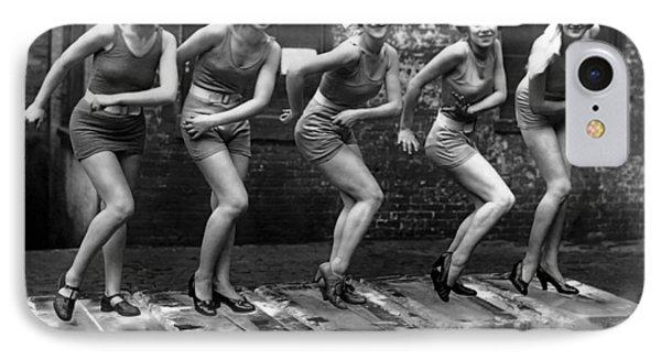 5 Flappers On Ice - Roaring Twenties IPhone Case