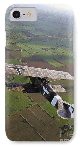 Fokker D.vii World War I Replica Phone Case by Daniel Karlsson