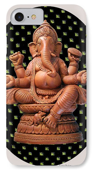 Ganesha IPhone Case by Suhas Tavkar
