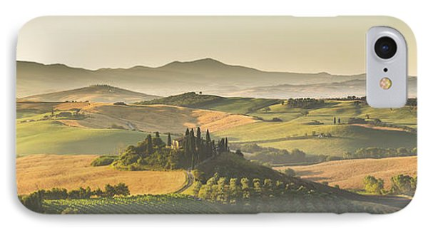 Golden Tuscany IPhone Case by JR Photography