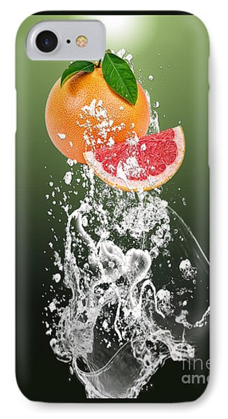 Grapefruit Splash IPhone Case