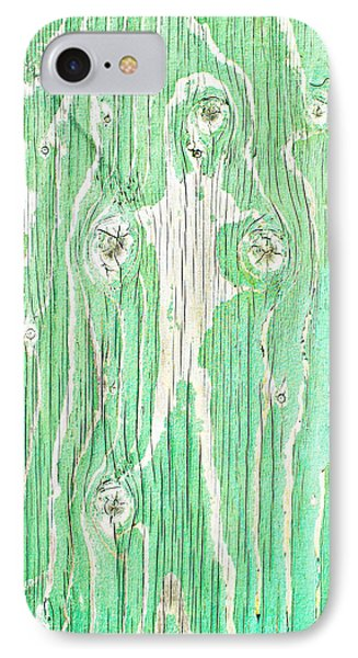 Green Wood IPhone Case by Tom Gowanlock