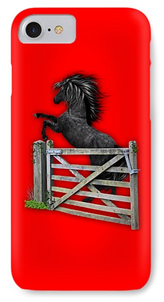 Horse Dreams Collection IPhone Case by Marvin Blaine