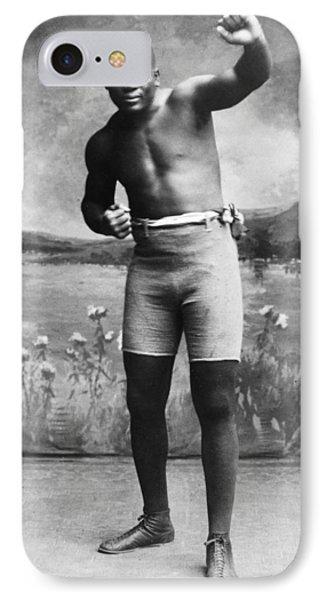 Jack Johnson (1878-1946) Phone Case by Granger