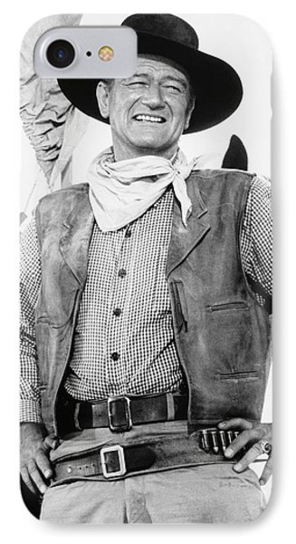 John Wayne (1907-1979) Phone Case by Granger