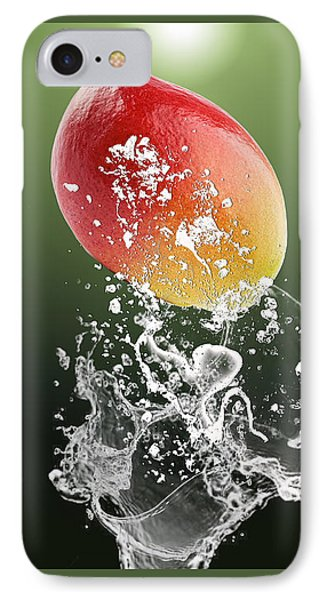 Mango Splash IPhone Case by Marvin Blaine