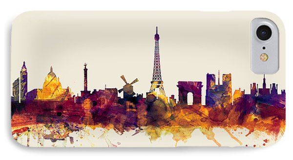 Paris France Skyline IPhone 7 Case