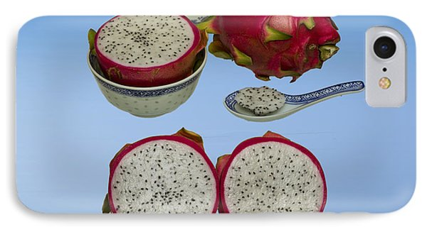 IPhone Case featuring the photograph Pink Dragon Fruit  by David French