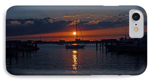 5- Sailfish Marina Sunset In Paradise IPhone Case by Joseph Keane