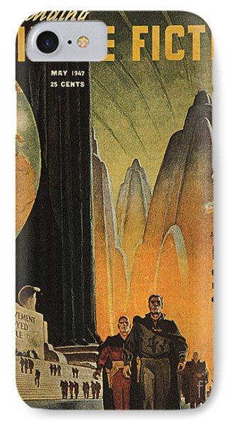 Science Fiction Magazine Phone Case by Granger