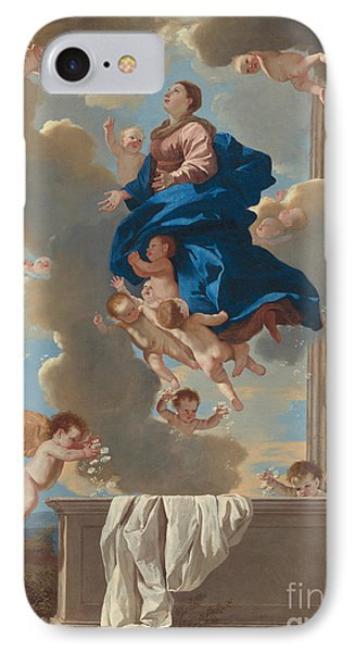 The Assumption Of The Virgin IPhone Case by Nicolas Poussin