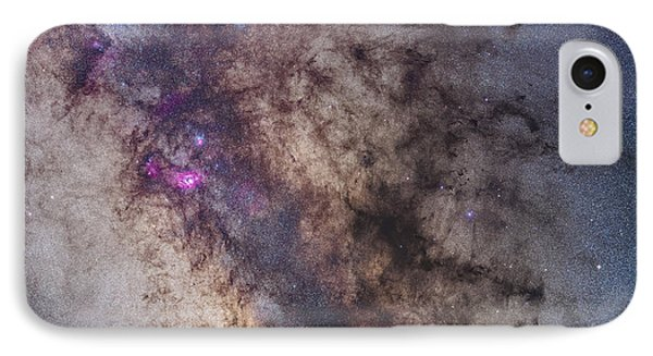 The Center Of The Milky Way IPhone Case by Alan Dyer