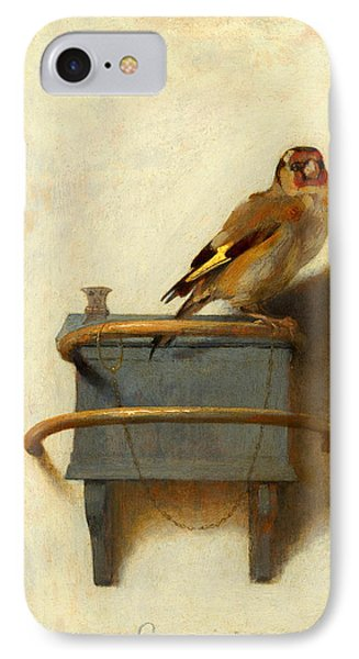 Meadowlark iPhone 7 Case - The Goldfinch by Carel Fabritius