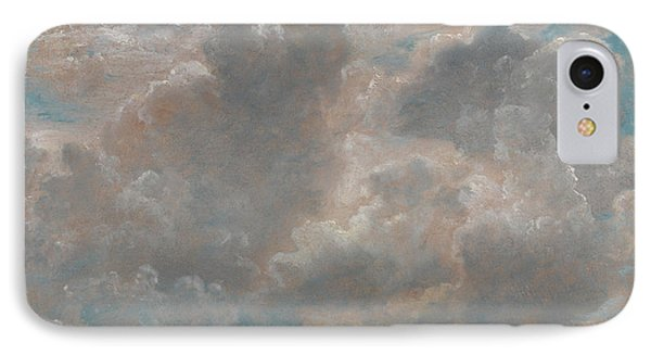 Title Cloud Study IPhone Case by John Constable
