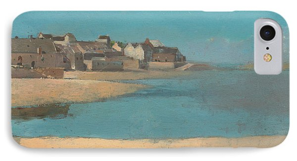 Village By The Sea In Brittany IPhone Case