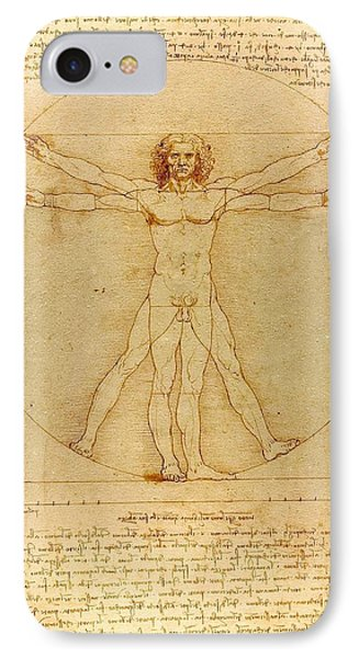 Vitruvian Man IPhone Case