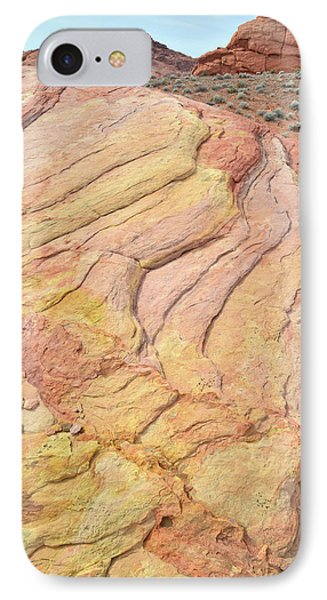 IPhone Case featuring the photograph Waves Of Color In Valley Of Fire by Ray Mathis