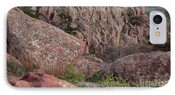 IPhone Case featuring the photograph Wichita Mountains by Iris Greenwell