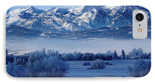 Winter In The Wasatch Mountains Of Northern Utah IPhone Case