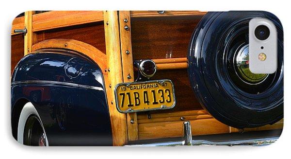 Woodie IPhone Case by Dean Ferreira