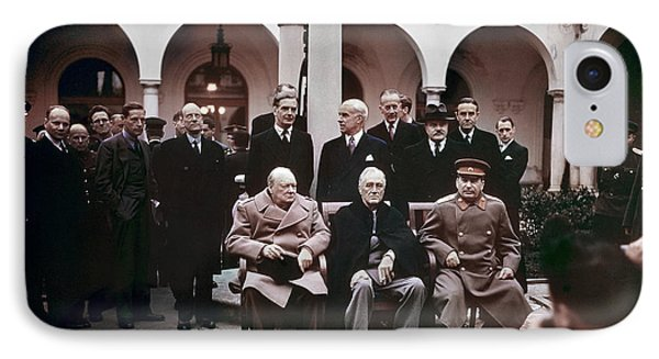 Yalta Conference, 1945 Phone Case by Granger