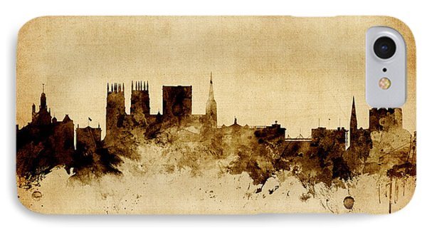 York England Skyline IPhone Case