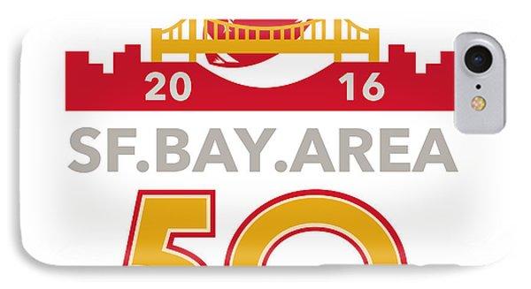 50 San Francisco Pro Football Championship IPhone Case by Aloysius Patrimonio
