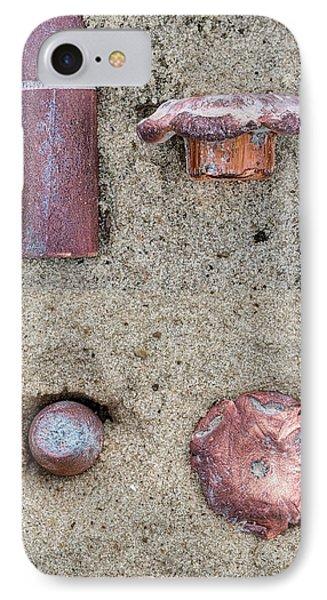500 Grain Buffalo Bore Fmj Vs 350 Grain Buffalo Barnes Hollowpint IPhone Case by JC Findley